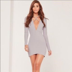 NWT Missguided Long Sleeve Dress